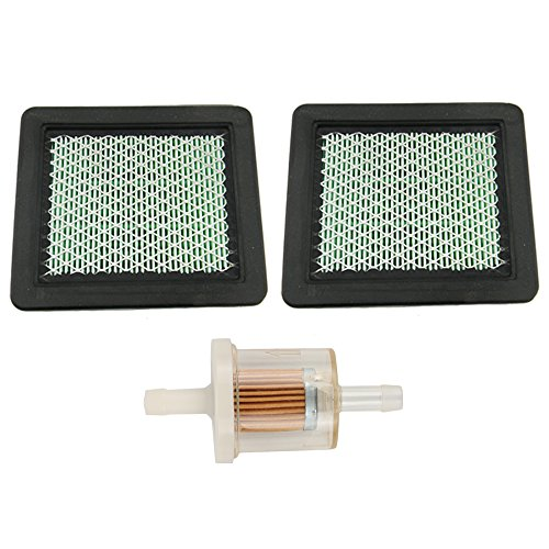 Mckin Pack of 2 Air Filter for Honda Engine 17211-ZL8-023 Gc135 Gcv135 Gc160 Gcv160 Gc190 Gcv190 Gx100 17211-ZL8-003 17211-Zl8-000 ()