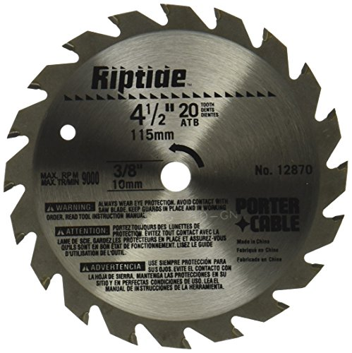 PORTER-CABLE 12870 Riptide 4-1/2-Inch 20 - 3/8