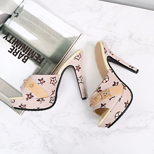 Femme Beige Mules Mules Femme Beige Mules JYshoes JYshoes JYshoes fxqwHRO4