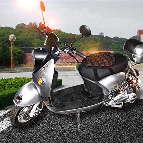 pliab everlaste Air Motorcycle Seat 3D Inflatable Motorcycle Seat Decompression Cushion for Comfortable Traveling Pressure Relief for Sport Touring Most Seats transferable There