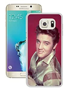 Hot Sale Samsung Galaxy S6 Edge Plus Case ,Elvis Presley 1 White Samsung Galaxy S6 Edge+ Cover Unique And Beautiful Designed Phone Case