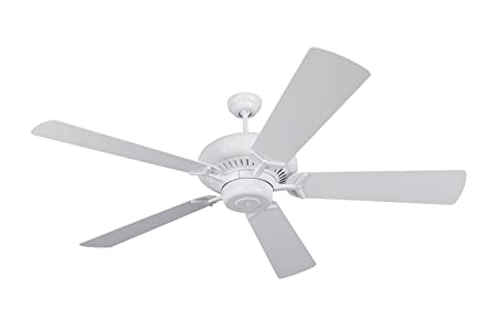 Monte Carlo 5GP60WH, Grand Prix White Energy Star 60 Ceiling Fan