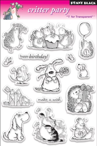 Clear Stamp Set, Critter Party ()