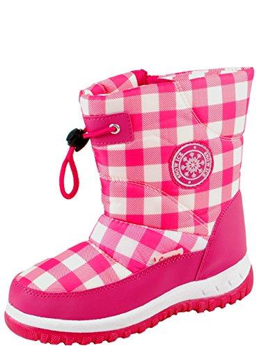 Gevavi Boots CW6107290 CW61 gefütterte Mädchenstiefel, 29, Rosa