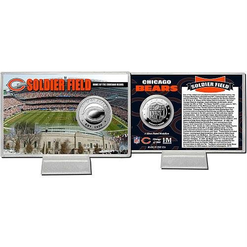 - Highland Mint Soldier Field Silver Coin Card THM-SOLFSPCCK