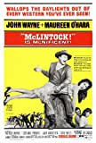 27 x 40 McLintock Movie Poster