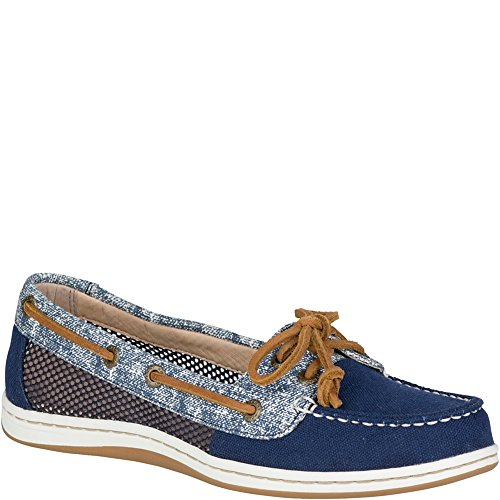 Blue Fish Boat Shoe - Sperry Top-Sider Firefish Canvas Boat Shoe
