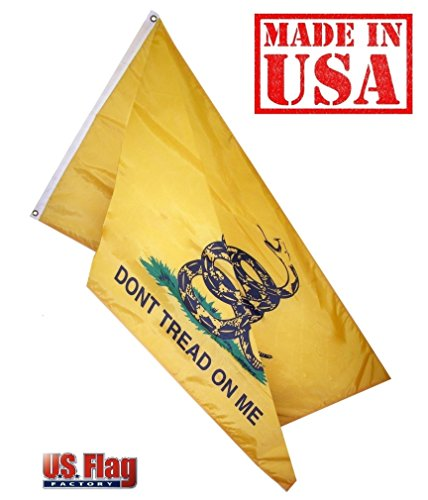 US Flag Factory 4'x6' Gadsden