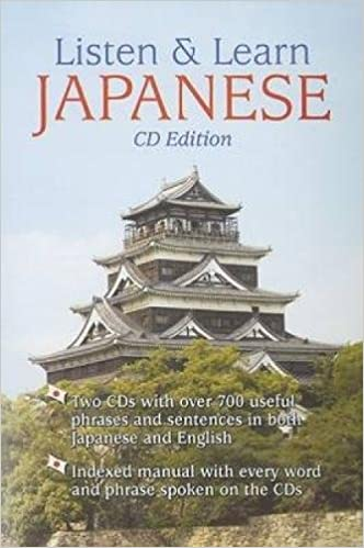 Amazon com: Listen & Learn Japanese (Book & Audio CD) (9780486996714