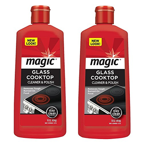 Magic Glass Cooktop Cleaner & Polish Cream - 16 fl oz