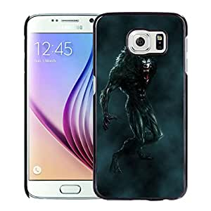 Beautiful And Unique Designed With Werewolf Mouth Fangs Flying Fog For Samsung Galaxy S6 Phone Case