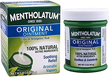 Mentholatum Original Ointment for Soothing Relief (3-Oz.)