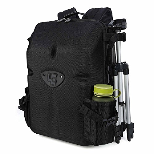 "G-raphy Waterproof Hardshell Camera Backpack 17"" Laptop Bag"