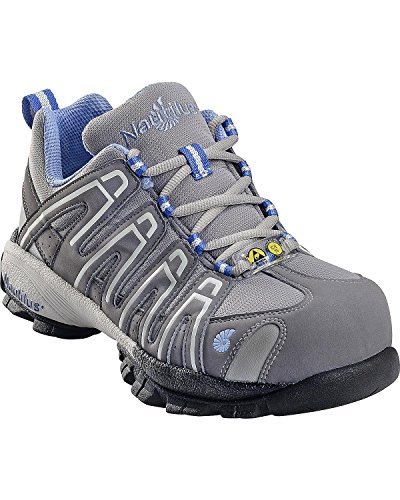 Nautilus 1391 Womens ESD Comp Safety Toe No Exposed Metal Athletic Shoe