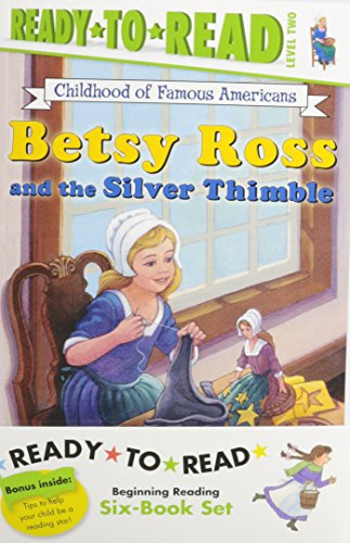 Childhood of Famous Americans Ready-to-Read Value Pack #2: Abigail Adams; Amelia Earhart; Clara Barton; Annie Oakley Saves the Day; Helen Keller and ... and the Silver Thimble (Ready-to-read COFA)