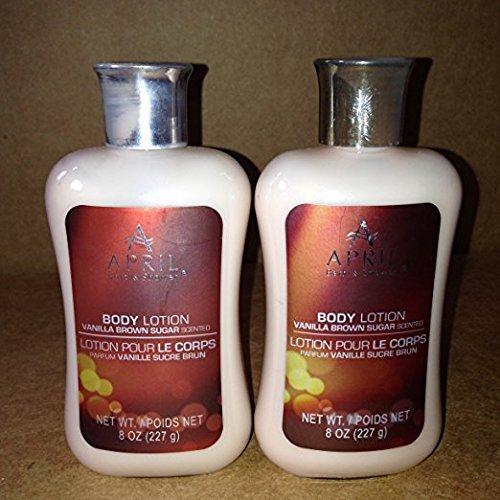 Brown Sugar Moisturizer (April Bath & Shower Body Care Collections 8 oz(Vanilla Brown Sugar )2 pack April Bath & Shower Body Care Collections 8 oz(Vanilla Brown Sugar )2 pack)