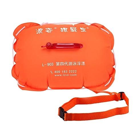 LVLONG - Flotador para niños y Adultos, Muy Visible para Nadadores ...