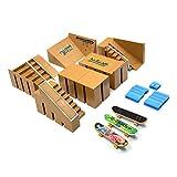 Skate Park Kit, Hometall 8PCS Skate Park Kit Ramp