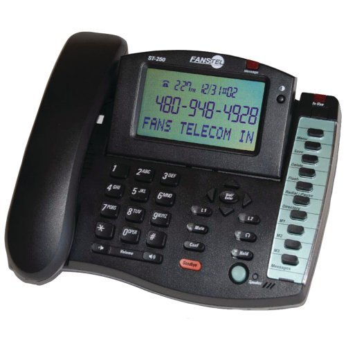 Fanstel 2-Line Business Professional Amplified Speakerphone (ST250) by Fanstel