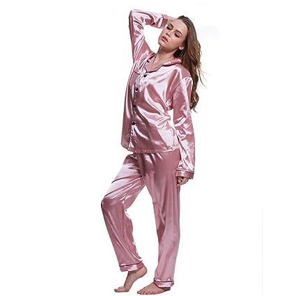 SALICEHB Más El Tamaño 5XL Pijamas Establece 2018 Mujeres Ropa Interior Ropa Interior Sexy Pijamas Satén
