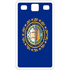 New Hampshire NH State Flag White Samsung Galaxy S3 - i9300 Cell Phone Case - Cover