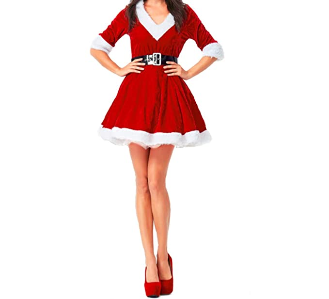 a1c5b01a037 Mitef Women s Christmas Costume