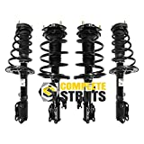 2007-2011 Toyota Camry Quick Complete Struts Shocks & Spring Coils w Mounts (Set of 4)