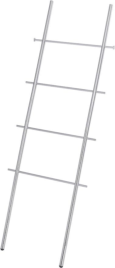 Wenko Kyoto Escalera Toallero, Acero, Plateado, 3x57x171 cm: Amazon.es: Hogar