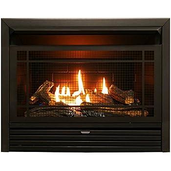 Amazon Com Regal Flame 33 Quot Flat Pebble Crystal Log
