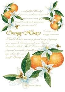 Aromas frescos bolsitas perfumadas–naranja miel