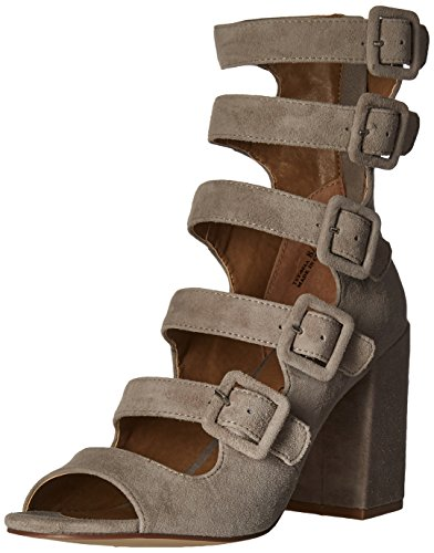 Chinese Laundry Women's Twilight Dress Sandal, Cool Taupe Suede,  8 M US