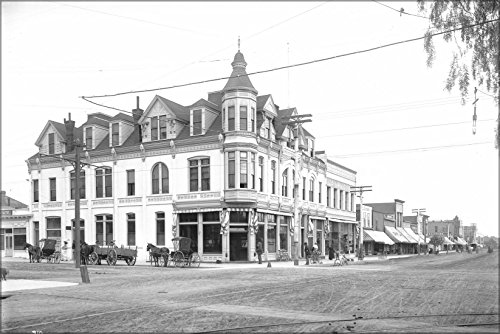 20x30 Poster; Exterior View Of The Bank Building At The Corner Of Third Street And Broadway, Santa Monica, - Monica Street Santa 3rd