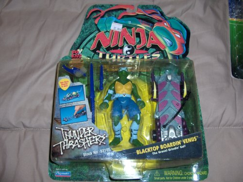 Ninja Turtles The Next Mutation Blacktop Boardin' Venus Figure: The Gravel Grindin Gal