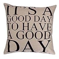 Iuhan Fashion Pillow Case Sofa Waist Throw Cushion Cover Home Decor (F)