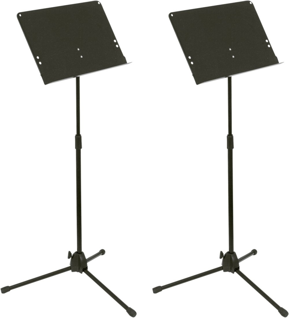 Musician's Gear Folding Music Stand 2-Pack Black Musician's Gear GMS40-BK-MG-2-Pack