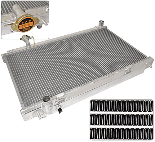 350Z G35 Dual Core 2-Row Aluminum Manual Transmission Cooling Radiator