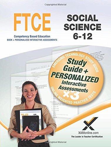 Read Online By Sharon A. Wynne FTCE Social Science 6-12: Teacher Certification (Csm Stg) [Paperback] pdf epub