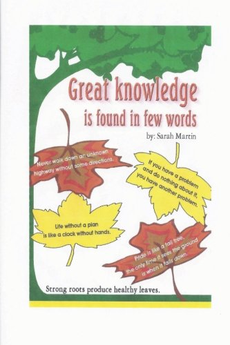 Great Knowledge is Found in Few Words PDF