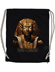 EGYPT PHARAO VINTAGE Drawstring Bag Anubis Mumie Nofretete Echnaton Sphinx Mummy Seth