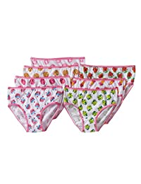 Shopkins 7 Pack Brief Style Panties for girls
