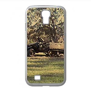 Army Truck On The Go Watercolor style Cover Samsung Galaxy S4 I9500 Case