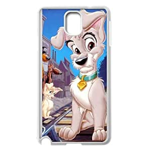 Samsung Galaxy Note 3 Cell Phone Case White Lady and the Tramp II Scamp's Adventure typo phone covers vgfj7104618