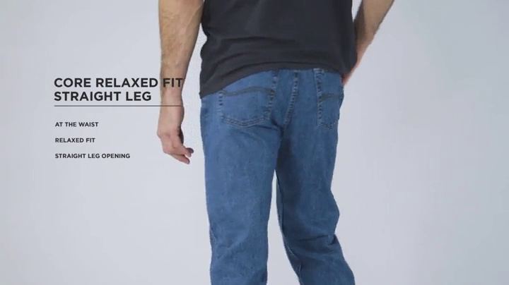 Lee Men's Relaxed-fit Straight Leg Jean