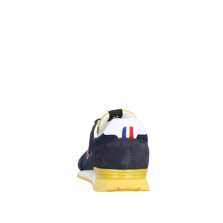 COLMAR TRACOL Navy gelb blau blau blau gelb Schuhe Turnschuhe Mann schnürsenkel 5809fd