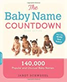 The Baby Name Countdown, Janet Schwegel, 1600940366