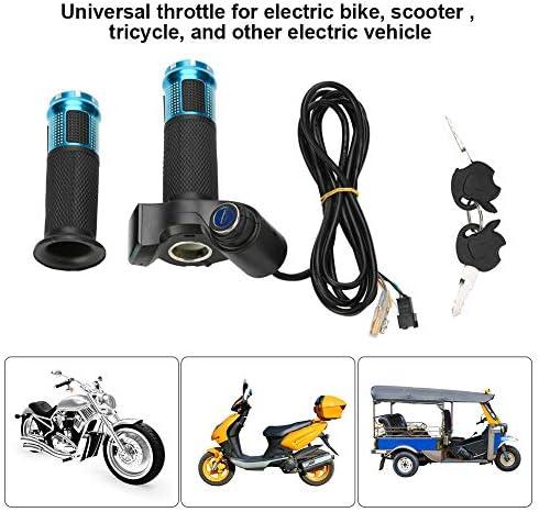 VGEBY1 Twist Throttle Grip Lunghezza Cavo: 2 m Scooter Veicolo Display di Tensione Grip con Serratura per Bici elettrica