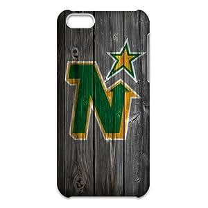 NHL Retro Classic iPhone5C Wood Pattern Logo Case 3D Printing Flexible Slim Case