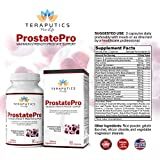 ProstatePro - 33 Herbs Saw Palmetto Prostate Health Supplement for Men   Non GMO Prostate Support Bladder Control Pills to Reduce Frequent Urination & DHT Blocker to Prevent Hair Loss, 90 Capsules