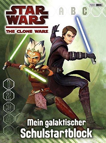 Star Wars The Clone Wars Schulstartblock: Mein galaktischer Schulstartblock