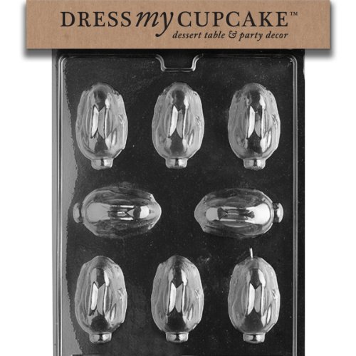 Dress My Cupcake DMCE158SET Chocolate Candy Mold, Bunny with Carrot Lollipop, Set of 6
